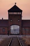 Konzentrationslager Oswiecim/Auschwitz, Polen Stockbild