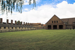 Konzentrationslager Oswiecim - Auschwitz, Polen Stockfotografie