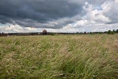 Konzentrationslager Oswiecim - Birkenau, Polen Stockfotografie