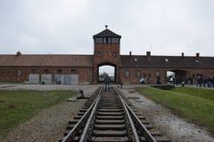 Konzentrationslager Polens, Auschwitz Lizenzfreie Stockbilder