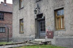 Konzentrationslager Polens, Auschwitz Lizenzfreies Stockfoto
