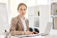 Konzentrieren auf Arbeit stockfotos