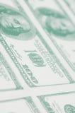 Konzentrieren auf den 100 Dollar Lizenzfreie Stockfotos