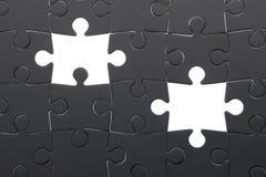 Konzentrieren Sie sich auf das unterere Kapitel des Puzzlespiels Stockfoto