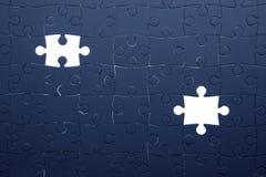 Konzentrieren Sie sich auf das unterere Kapitel des Puzzlespiels Lizenzfreie Stockfotos