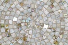Konzentrischer Mosaikhintergrund Lizenzfreie Stockfotos