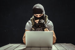Konzept über Terrorismus lizenzfreies stockbild