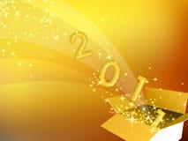 Konzept 2011 stock abbildung