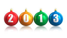 Konzept 2013 des neuen Jahres Stockfotografie