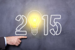 Konzept 2015 Stockfotografie