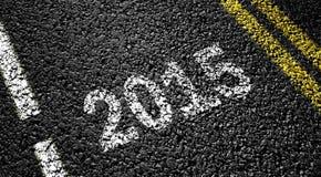 Konzept 2015 Lizenzfreie Stockfotos