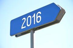 Konzept 2016 Stockfoto