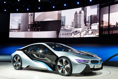 Konzept-Auto BMW-i8 lizenzfreie stockfotos