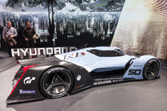 Konzept-Auto Hyundais Muroc am IAA 2015 Stockfotografie