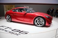 Konzept-Auto Toyota-FT-86 Lizenzfreie Stockfotos