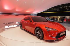 Konzept-Auto Toyota-FT-86 II Lizenzfreie Stockfotografie
