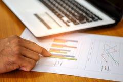 Konzept, berechnen Einkommen und Ausgaben Lizenzfreies Stockbild