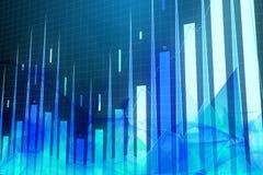 Konzept Blockchain, AI und des Managements Stockfotografie