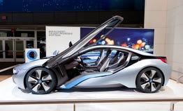 Konzept BMW-i8 elektrisch stockbild