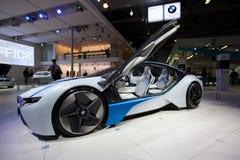 Konzept BMW-Supercar auf MIAS-2010 Lizenzfreies Stockfoto