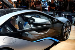 Konzept BMWs i8 Lizenzfreie Stockfotos