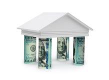 Konzept 3d von Bank Lizenzfreie Stockfotos