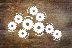 Konzept das Arbeiten eines komplexen Mechanismus Lizenzfreies Stockfoto