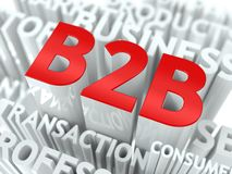Konzept, das Geschäft zu den Geschäfts-Ausdrücken kennzeichnet. Stockfotos