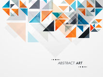 Konzept der abstrakter Kunst Stockbilder