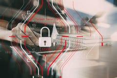 Konzept der allgemeine Daten-Schutz-Regelung (GDPR) und der Sicherheit C Stockfoto