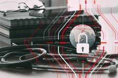 Konzept der allgemeine Daten-Schutz-Regelung (GDPR) und der Sicherheit C Lizenzfreie Stockfotografie
