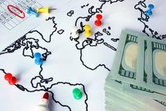 Konzept der Anti-Geldwäsche AML stockbilder