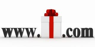 Konzept der Besuchse-business-Website Lizenzfreies Stockbild