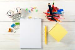 Konzept der Bildung, September erster oder zurück zu Schule w Stockfoto