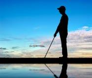 Konzept der Blinde mit Unfähigkeit Stockbilder