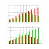 Konzept der bunten Fahnen für unterschiedliche Geschäftsauslegung Auch im corel abgehobenen Betrag Stockfotos