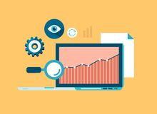 Konzept der Datenanalyse Lizenzfreies Stockfoto