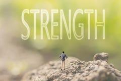 Konzept der Energie, Stärke, Kraft Stockbilder