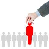 Konzept der Führung und des Teambuildings Stockfotografie