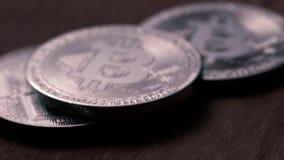 Konzept der Finanzierung und der Schlüssel-währung stock video