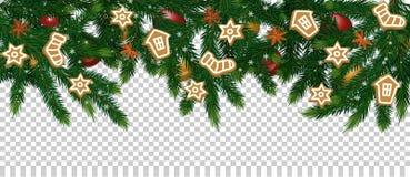 Konzept der frohen Weihnachten und des guten Rutsch ins Neue Jahr stock abbildung