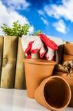 Konzept der Gartenarbeit, Naturthema Stockfoto