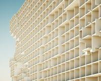 Konzept der Gebäudestrukturen Stockfotografie