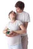 Konzept der Geburt. Lizenzfreie Stockfotos