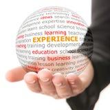 Konzept der Geschäftserfahrung stockfotos