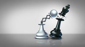 Konzept der Geschäftsstrategie lizenzfreie abbildung