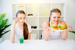 Konzept der gesunden Diät Lizenzfreie Stockfotografie