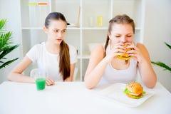 Konzept der gesunden Diät Stockbild