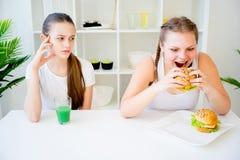 Konzept der gesunden Diät Lizenzfreie Stockbilder