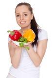 Konzept der gesunden Nahrung. Stockfotografie
